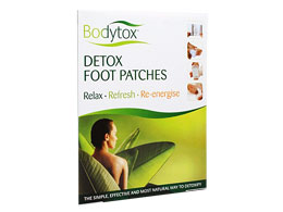 Bodytox Detox Foot Patches, 2 stk