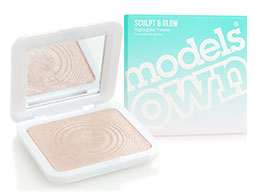 Models Own Sculpt & Glow - Highlighter Powder, Peach Pearl HLP02