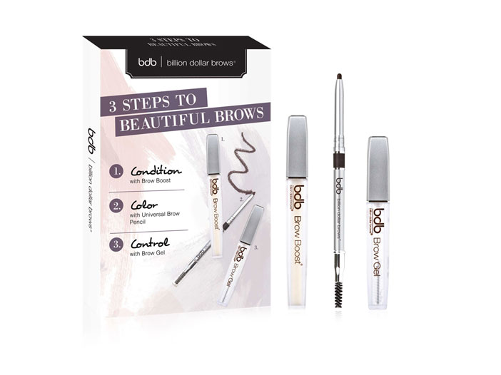 Billion Dollar Brows, 3 Steps to Beautiful Brows Kit big image 0