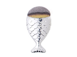 Mermaid Salon - the Original Chubby Mermaid Brush, Silver