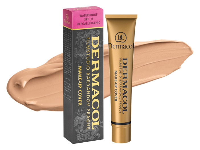 Dermacol - Make-up Cover Foundation SPF30, N212 big image 0