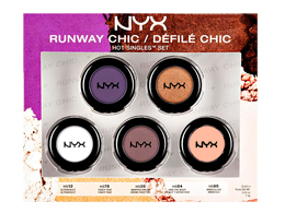 NYX Cosmetics Hot Singles Runway Chic Eyeshadow Set