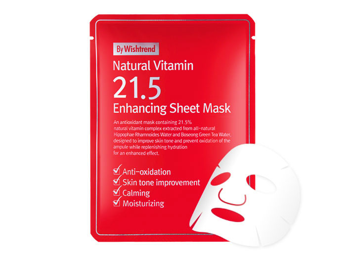 By Wishtrend - Natural Vitamin 21.5 Enhancing Sheet Mask big image 0