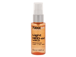 Fudge Light HED-ed Hair Oil Light & Dry Spray, 50ml