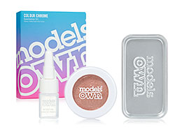 Models Own Colour Chrome Eyeshadow Kit, Copper Lustre CCK05