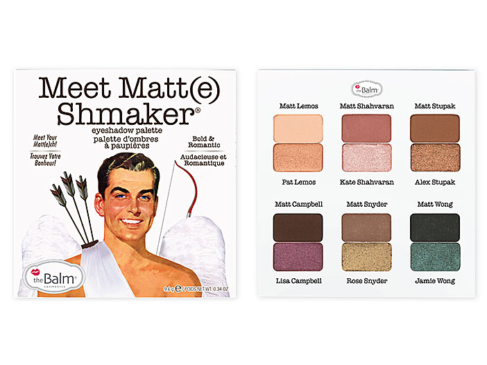 theBalm Meet Matt(e) Shmaker - Eyeshadow Palett big image 0