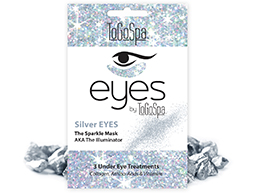 ToGoSpa - Silver Eyes - The Sparkle Mask, 3 pk
