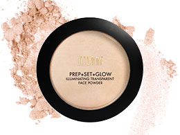 Milani Prep Set Glow, Illuminating Transparent Powder 02